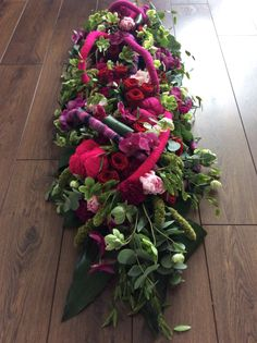 Designed by Siska Lubach Funeral arrangement