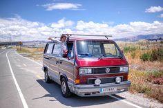 Sunny days and open roads we all feel like this! Ratemycamper.com  #van #vanagon #camper #campervan #vwcamper #vwcampervan #vanagonlife #vanlife #vanwatch #vanlifediaries #vw #vwbus #vwvan #tintop #wonderlust #Volkswagen #vwlove #Repost @zunigafranco by rate_my_camper