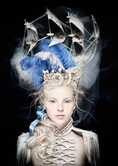 Magnificent Marie Antoinette inspired headpiece
