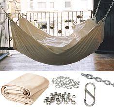 Roundup: 9 DIY Hammock Projects to Help You Enjoy Your Summer | Man Made DIY | Crafts for Men | Keywords: backyard, outdoor, summer, hammock