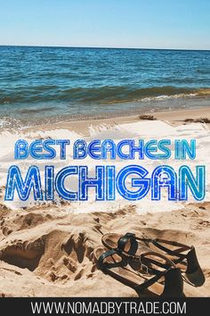 Summer in Michigan should be spent on the best beaches in Michigan. If you're wondering where to swim in Michigan, you can't go wrong with places like Muskegon, Sleeping Bear Dunes, Pictured Rocks, Oscoda, Grand Haven, South Haven, Ludington, and more. With refreshing water & perfect sand, spending time at Michigan beaches is one of the best things to do in Michigan in the summer. You'll definitely want to add these to your Michigan summer activities list. #Michigan #PureMichigan #USA…