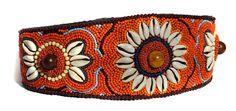 Women Hand Embroidered Beads Shell Fashion by KrishanshHandMade