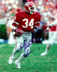 Hershal Walker: Golden days of old! Georgia Bulldogs Football, Dog Football, Football Photos, Football Fans, College Football, Football Helmets, Football Season, Herschel, Athens Georgia