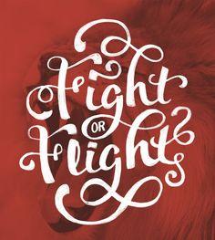 Fight or Flight by michael.crawford92 (via Creattica)