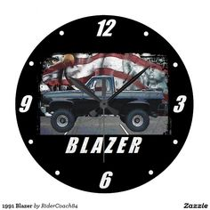 1991 Blazer Large Clock