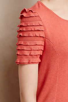 Isabella Ruffled Pullover - anthropologie.com  #anthropologie #AnthroFave
