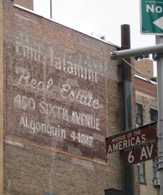 6th Avenue Manhattan