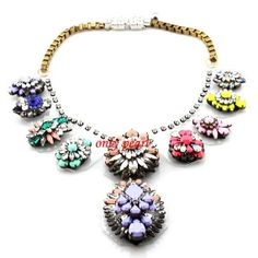 Double Bubble Necklace Beaded Necklace Mix Color by OnlyPearl, $55.00