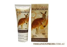 Red Kangaroo Hand and Nail Cream 60ml  $9.95  Enriched with Shea Butter.  This rich non-greasy cream will assist in keeping hands beautifully soft and moisturised.  #handandnailcream #climatefriendly #ecofriendlygifts #ecofriendlyproducts #australianmade #australianfauna #kangaroo #gifts