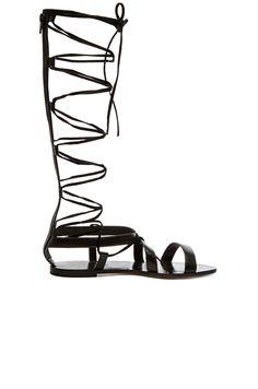 RAYE Shea Gladiator Sandal in Black