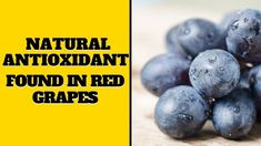 Natural Antioxidant Found In Red Grapes Red Grapes, Blueberry, Fruit, Natural, Health, Berry, Health Care, The Fruit, Blueberries