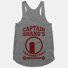 Captain Shang's Training Camp | T-Shirts, Tank Tops, Sweatshirts and Hoodies | HUMAN
