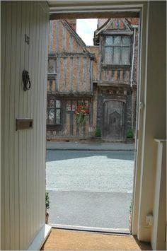 Lavenham, Suffolk, England (aka Godric's Hollow)- the fictional birthplace of Harry Potter
