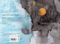 Book Cover: James & the Giant Peach - Sarah Maycock Book Cover Design, Book Design, The Giant Peach, Roald Dahl, Book Covers, Storytelling, Magazines, Design Inspiration, Illustration