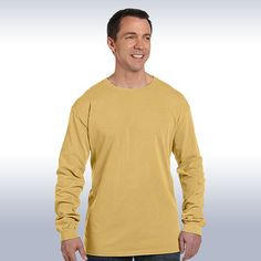 10043c0a033427 Spread the words online with Authentic oz- Pigment-Dyed   Direct-Dyed  Ringspun Long-Sleeve Buy one now.