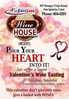 Valentine Wine Tasting and Wine Baskets