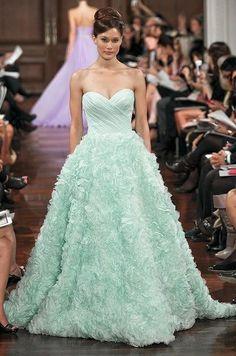 Breathtaking Tiffany blue dress