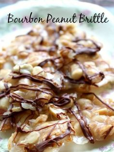 bourbon peanut brittle is done in less than 20 minutes and it's super easy to make. SO good! --http://restlesschipotle.com
