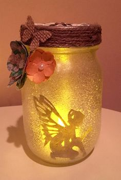 Fairy Jar  Small by NixiesPixies on Etsy