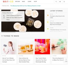 17 of the Best Examples of Beautiful Blog Design