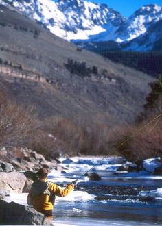Yes please - where? icy fly fishing