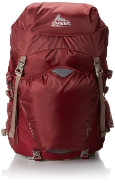 Gregory Sage 45 Backpack, Rosewood Red, X-Small * Check this awesome image : Camping backpack Best Hiking Backpacks, Day Backpacks, Outdoor Backpacks, Camping And Hiking, Hiking Packs, Backpacking Packs, Internal Frame Backpack, Popular Backpacks, Casual Bags