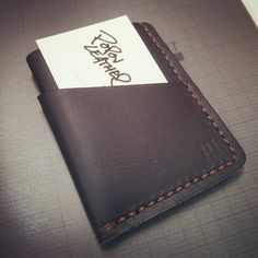 #popovleather received thank you. #blackslimleather #wallet