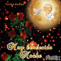 By esparrago Yanina Avalos - PicMix Good Night Gif, Good Night Quotes, Happy Week, Message Quotes, Glitter Wallpaper, Christmas Pictures, Diy And Crafts, Christmas Bulbs, Spanish