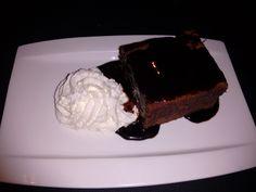 Brownie de chocolate del Restaurante La Viña de San Francisco, Bilbao