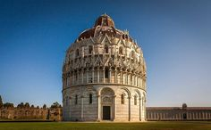 Battistero di San Giovanni in Pisa. This is why I love photographing buildings. Such a stunning structure and much more interesting than the tower that leans! #pisa #battisterodisangiovanni #italy #igersitaly #buildingphotography #architecturalphotography #photography #photographyblogger #travel #tourism #canonphotography #canon #canon6d #manfrotto #manfrottotripod #leaningtowerofpisa #tuscany #tuscanyphotographer #tuscanyphotography  Posted Sunday 11h March at 2.40pm