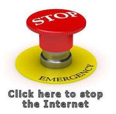 Internet Kill Switch Bill passed for your own protection.  This is a test of the emergency broadcast system.  This is only a test.  If this were a real global cataclysm, you would not have access to cell phones, internet, radio or television.