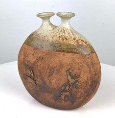 RARE WARREN HULLOW Studio Art Pottery Stoneware Weed Pot Vessel Vase Mid Century - $575.00 | PicClick Ceramic Clay, Glazed Ceramic, Ceramic Vase, Clay Studio, Studio Art, Pottery Bowls, Mid Century Modern Design, Art Studios, Vintage Signs