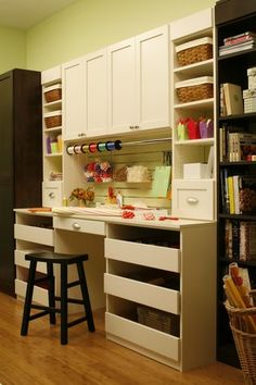 LOVE it! This and a work table would be perfect!