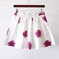 Rose skirt J707CC – Tepayi Weird Fashion, Fashion Show, Fashion Outfits, Cute Skirts, Short Skirts, Printed Shorts, Frocks, Style Me, Hair Makeup