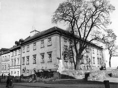 Lublin, home of the Jewish orphanage 11 Grodzka Street, the children were murdered by nazis March 1942. fot. Tadeusz Ptasiński (1971)