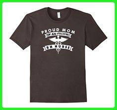 Mens Proud Mom of an Awesome Registered Nurse TShirt Small Asphalt - Relatives and family shirts (*Amazon Partner-Link)