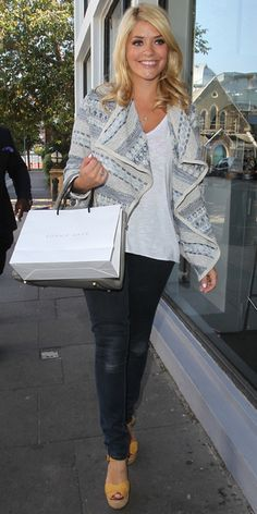 holly willoughby casual - Google Search