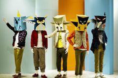 Carton Birds by Linus & the Feel Food Factory