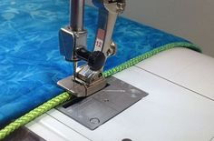 How to add a quick finish to projects with decorative cording from WeAllSew. #SewingTip #Cording