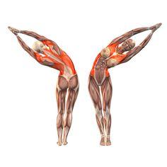Half moon pose left - Ardha Chandrasana left - Yoga Poses | YOGA.com