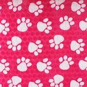 Polar Fleece Poot, zwart-multicolor - Fleece antipilling - voordelig kopen in de online shop / stoffenwinkel