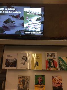 """Durante este mes de mayo en el expositor Escaparate, 1ª planta en la Sala de Lectura,encontraréis una selección de obras de los autores que  van a participar en el FÁCYL 2018 dentro de la sección que organiza la Biblioteca """"Conchas Silenciosas"""" Reading Room, May 27, Shop Displays, Shells, Authors, Journals, Culture"""