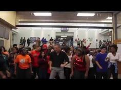 Scot Pankey and the A. Maceo Smith New Tech High School in Dallas TX dancing to Bruno Mars' Uptown Funk