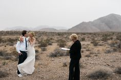 Rainy Las Vegas Desert Elopement by: Weddings by Bonnie.