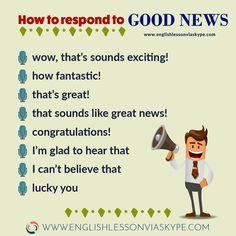 How to give and reply to news in English? Intermediate level English conversation. #learnenglish #englishlessons #englishteacher #ingles #aprenderingles #vocabulary