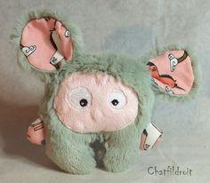 Peluche mini-Bestiole toute douce par Chatfildroit : Jeux, peluches, doudous par chatfildroit