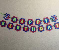 Pj Masks Birthday Pj Masks Birthday Banner Pj Masks Costume