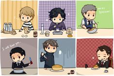 Cutest thing I've seen all day! Great find @Lyndsey Lake Lake Gerlach {How to Bake a Cake by the Sherlock Cast :-)}