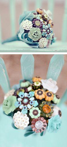 anthropologie drawer pull wedding bouquet