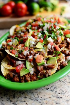 Loaded Nachos. What more is there to say?